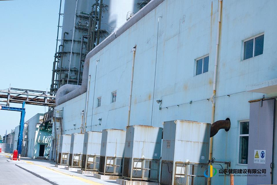 8齊魯石化熱電廠煙氣脫硫系統泵房