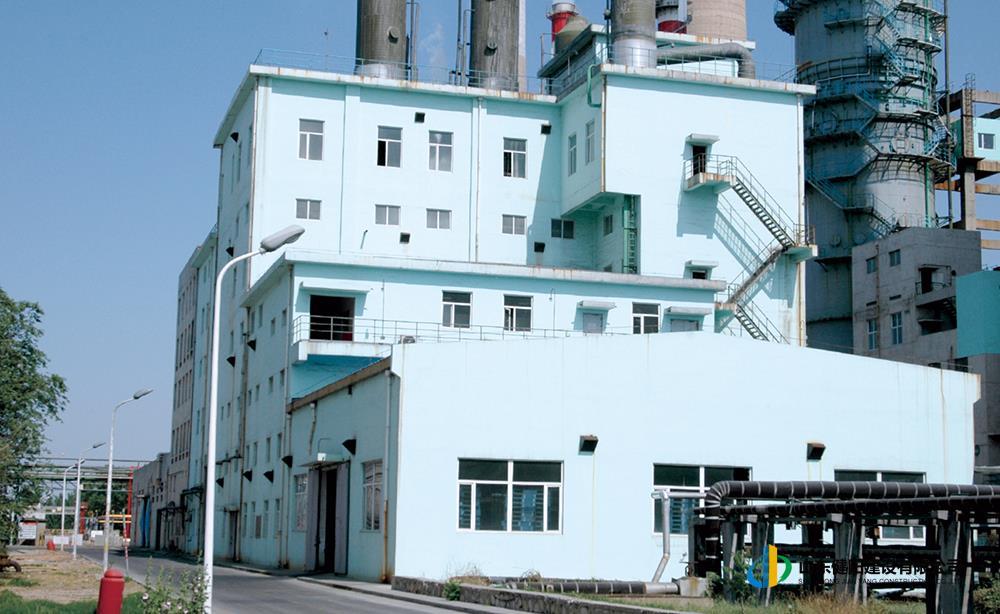 9齊魯石化熱電廠煙氣脫硫系統硫銨廠房