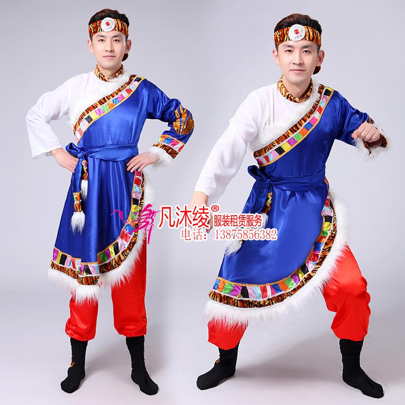 男款藏族服大号