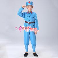 儿童红军服装套装