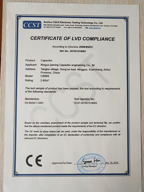 Certificateoflvdcompliance3