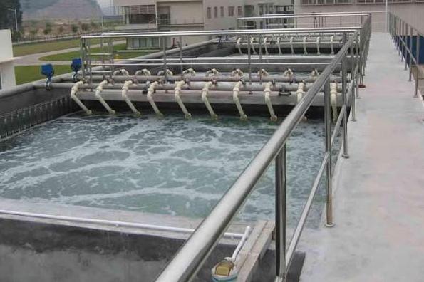 造紙污水處理現場