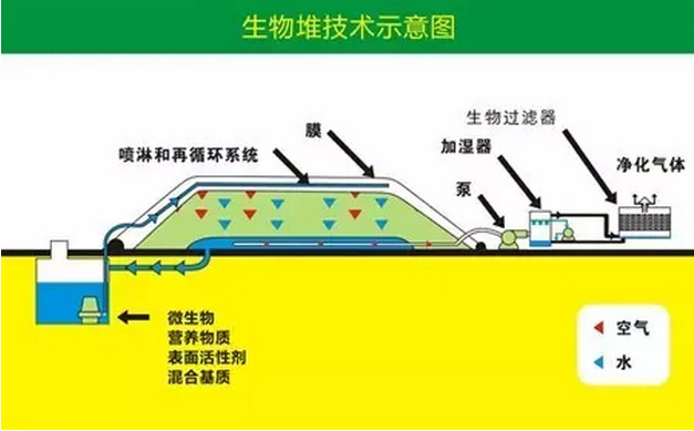 生物堆技術