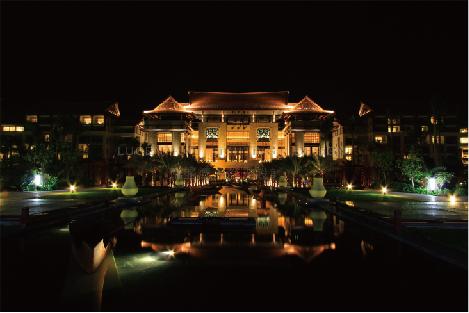 三亚海棠湾万丽酒店
