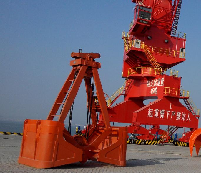 漳州龍發碼頭25噸鎳礦抓斗