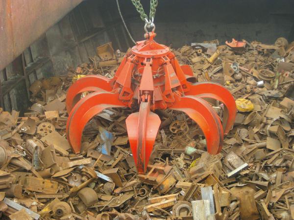 2535門機改造抓取廢鋼