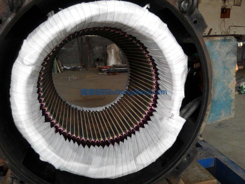 低壓電機線圈更換250KW一4