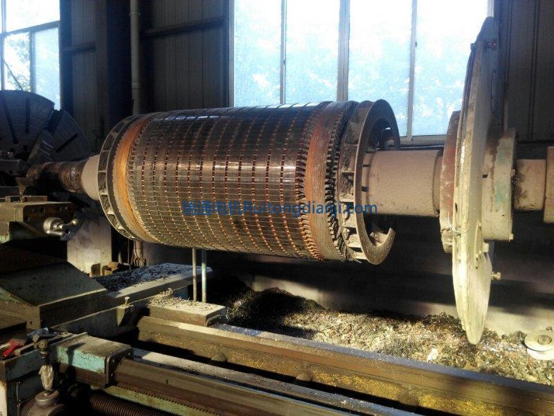 高壓電機轉子維修YR800KW一8