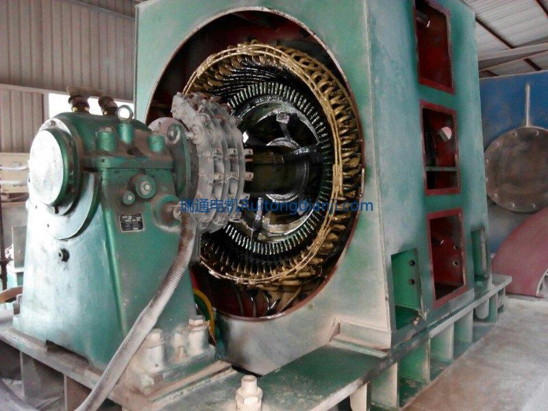 高壓電機現場保養維護1250KW
