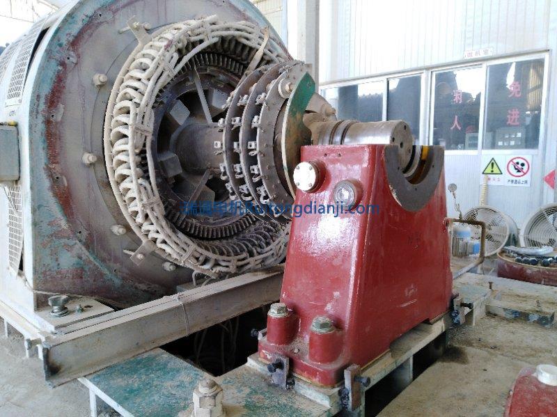 高壓電機現場維修1600KW