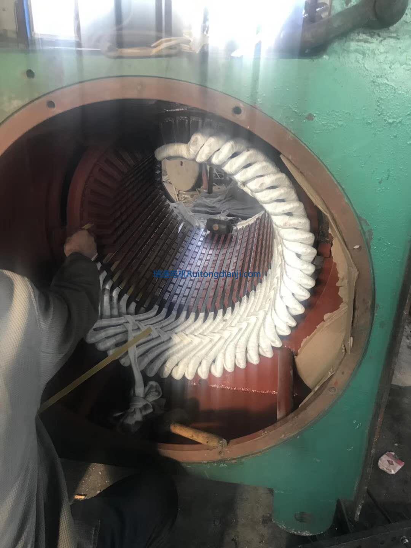 高壓電機更換線圈1250KW