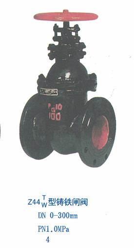 铸铁闸阀DN0-300mmPN1.0MPa4