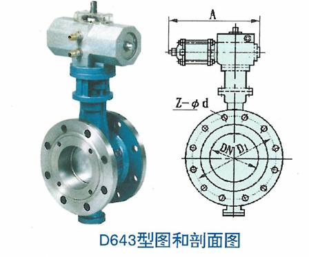 D643型图和剖面图
