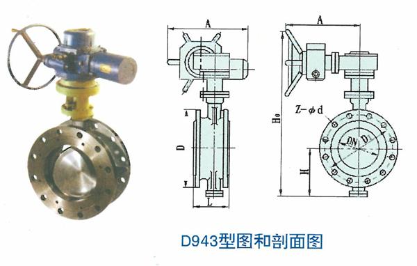 D943型图和剖面图
