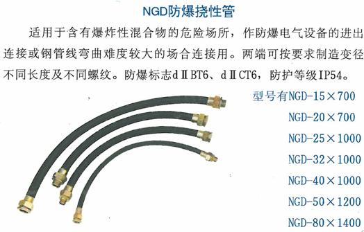 ngd防爆绕性管