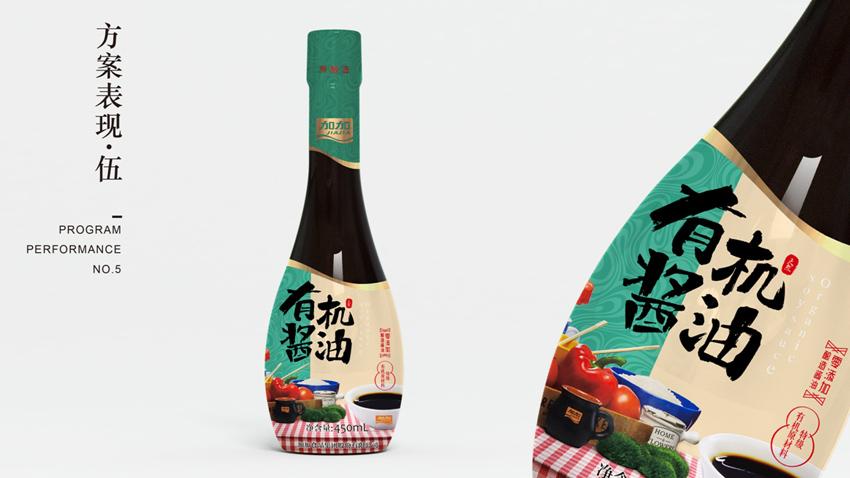 加加有机酱油产品策划包装设计