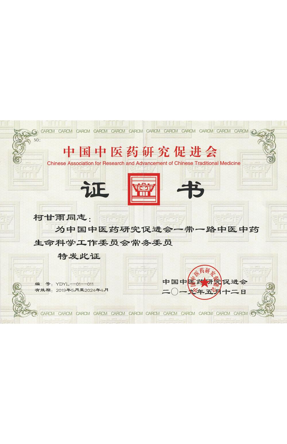 中国中医药研究促进会