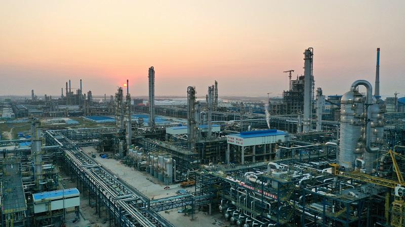 我国国产化程度最高炼化一体化项目投产-《国资报告》杂志