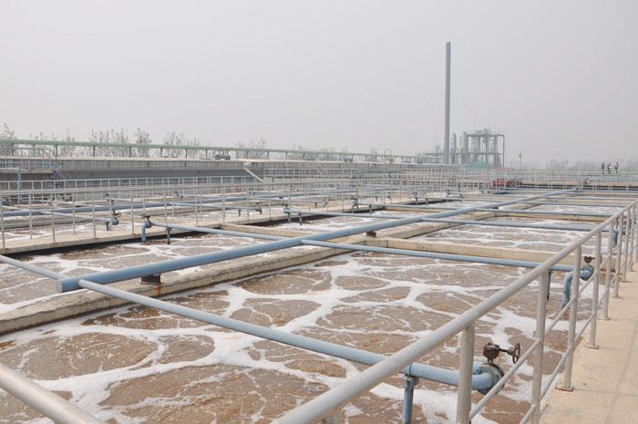 山东一滕新材料股份有限公司新厂区完备的污水处理系统