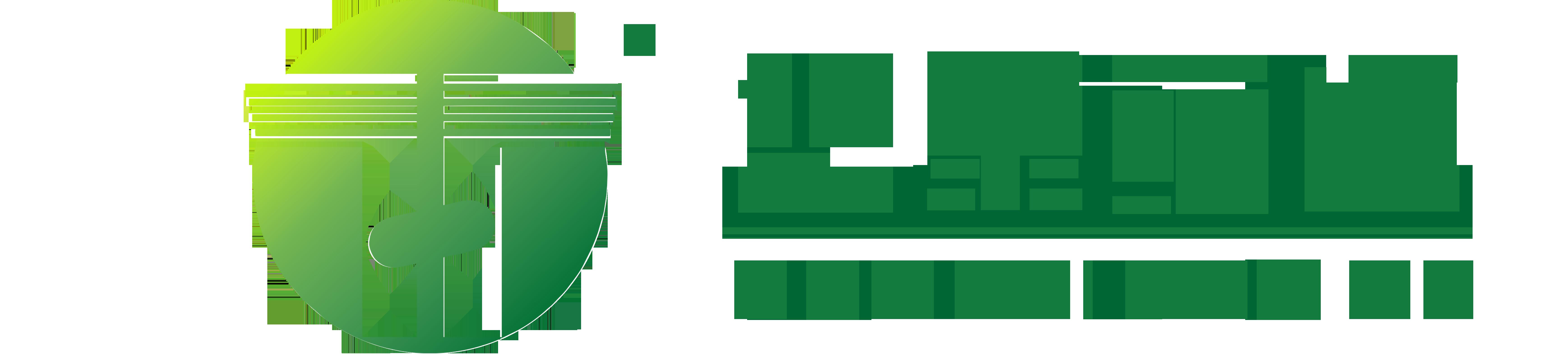華泰藥業LOGO綠色