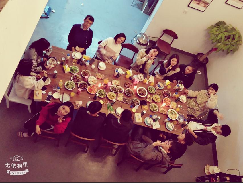 2018杭州民宿美好的晚餐