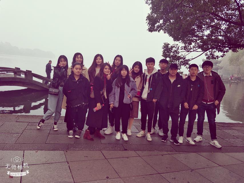 2018杭州之旅集体照
