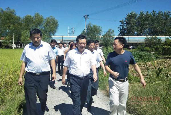 陶方启到宣州区水东镇调研乡村振兴及脱贫攻坚工作2