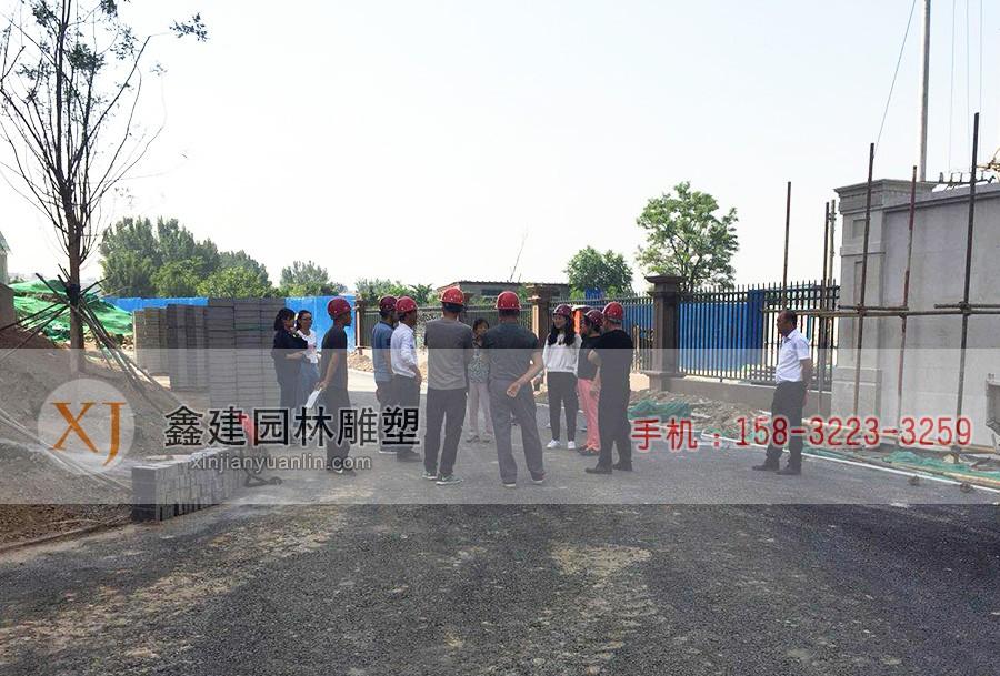 北京碧蓝澜庭-石材幕墙及园林景观工程-00--27