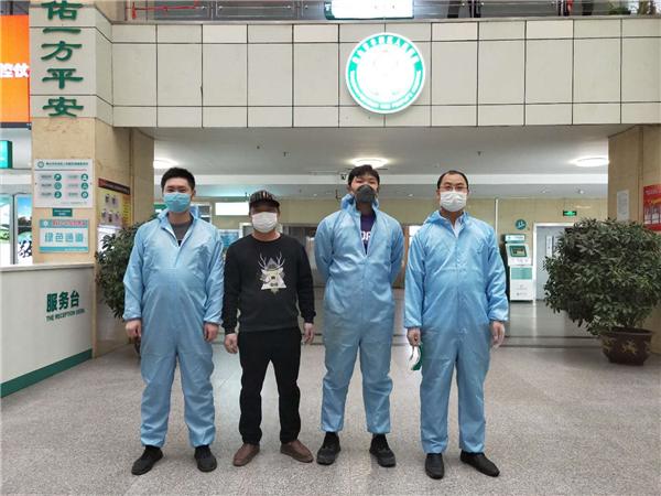 河北唐山仁爱手外科医院院长携员工自费为民众消杀抗疫