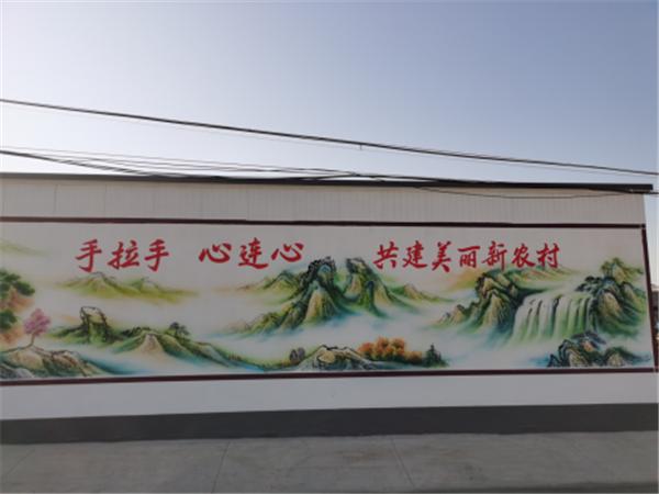 任丘市议论堡乡小门村第一届重阳书画展圆满成功