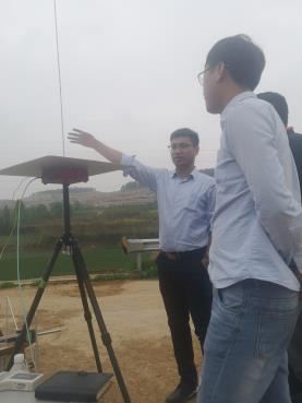 四合检测成功完成山东西部某公司电磁环境测试任务