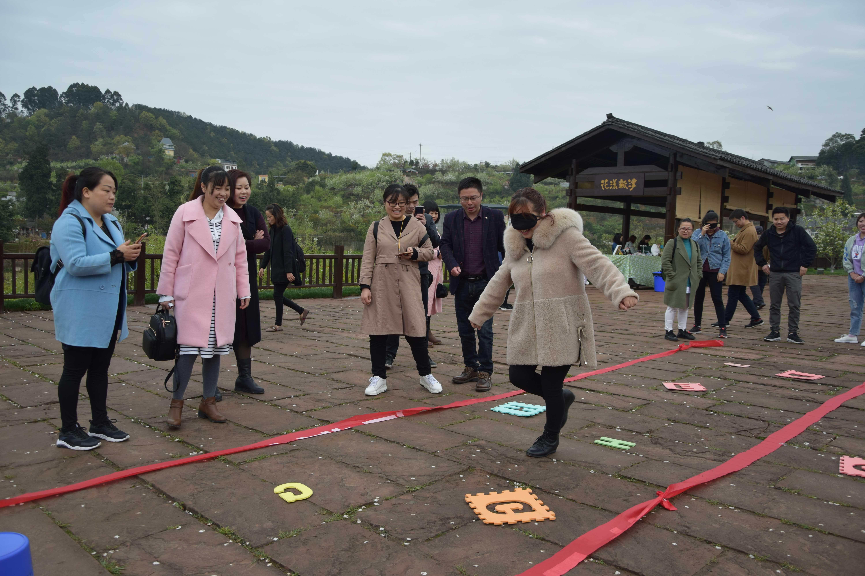 旭阳公司3月23日团建图片-地雷阵3