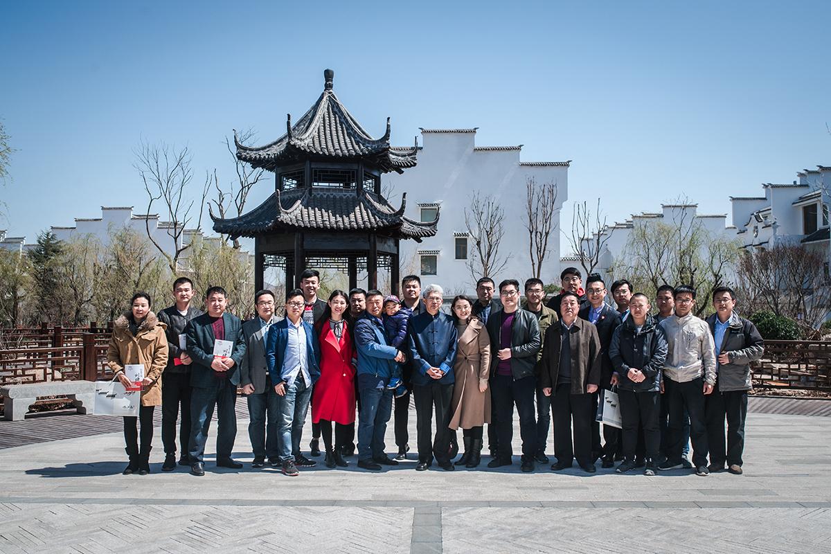国学大师纪连海与读者在怡江南