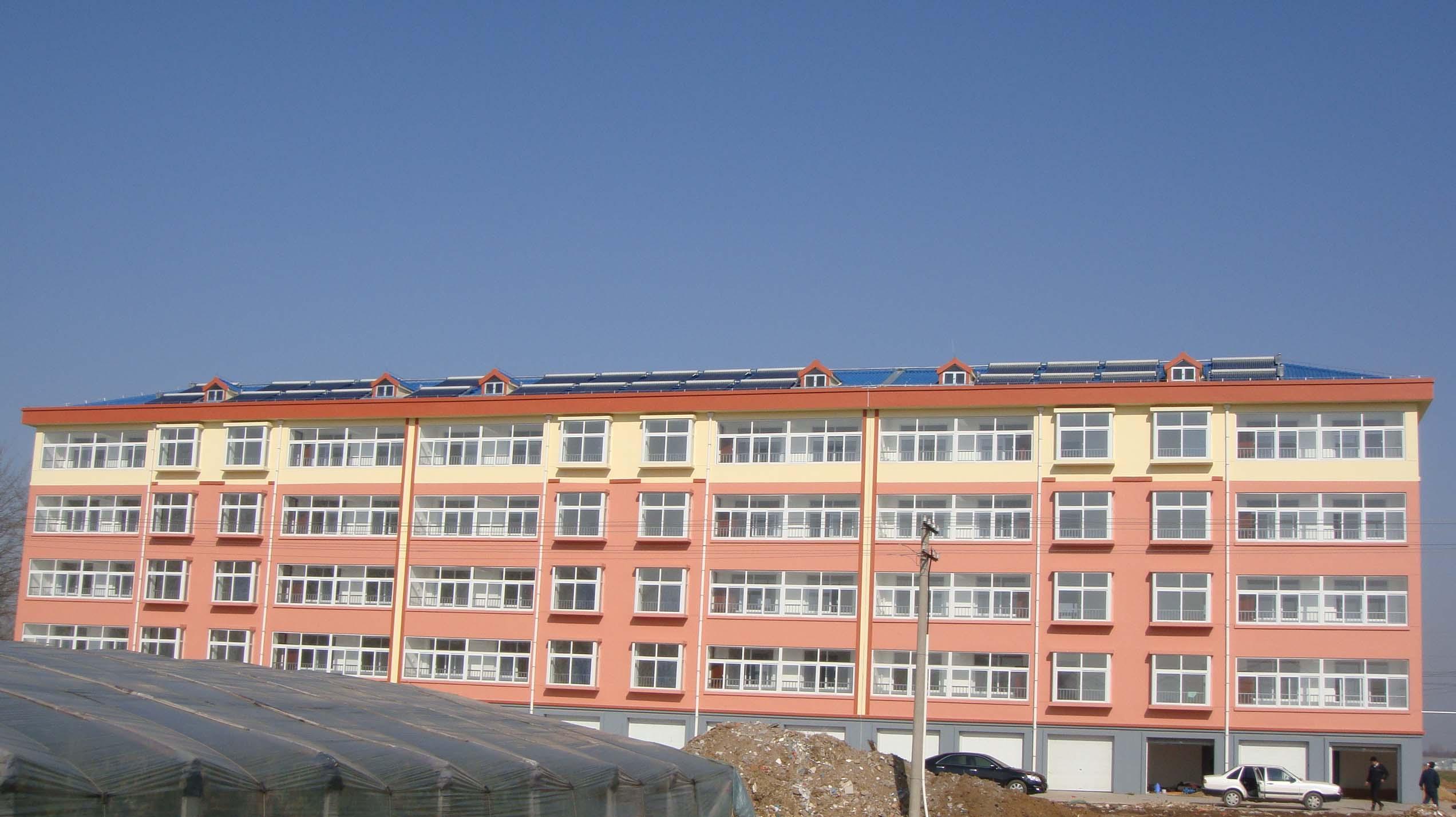 太阳能采暖与生活热水供应示范项目——寿光太阳能小区