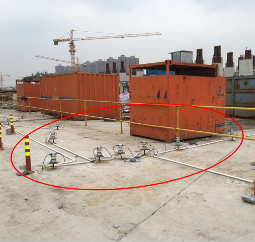 桂桥路站监测现场1