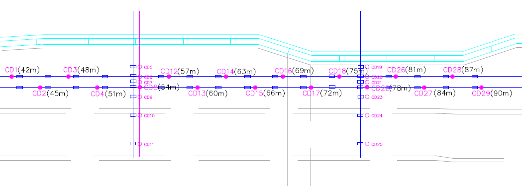 路面-地表沉降监测案例1