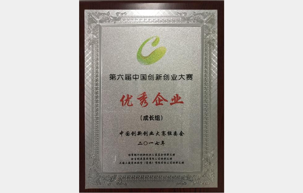 第六屆中國創新創業大賽優秀企業