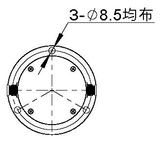 新版靜力水準儀尺寸圖2