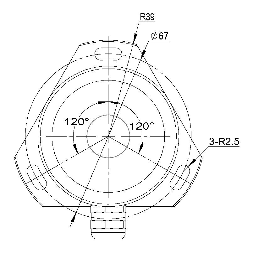 傾角測量儀尺寸圖2