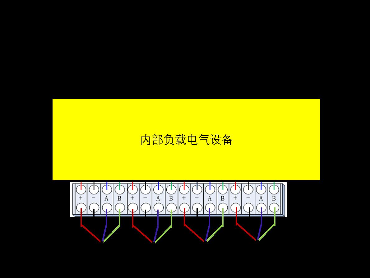 多通道模擬信號采集儀電纜接線圖