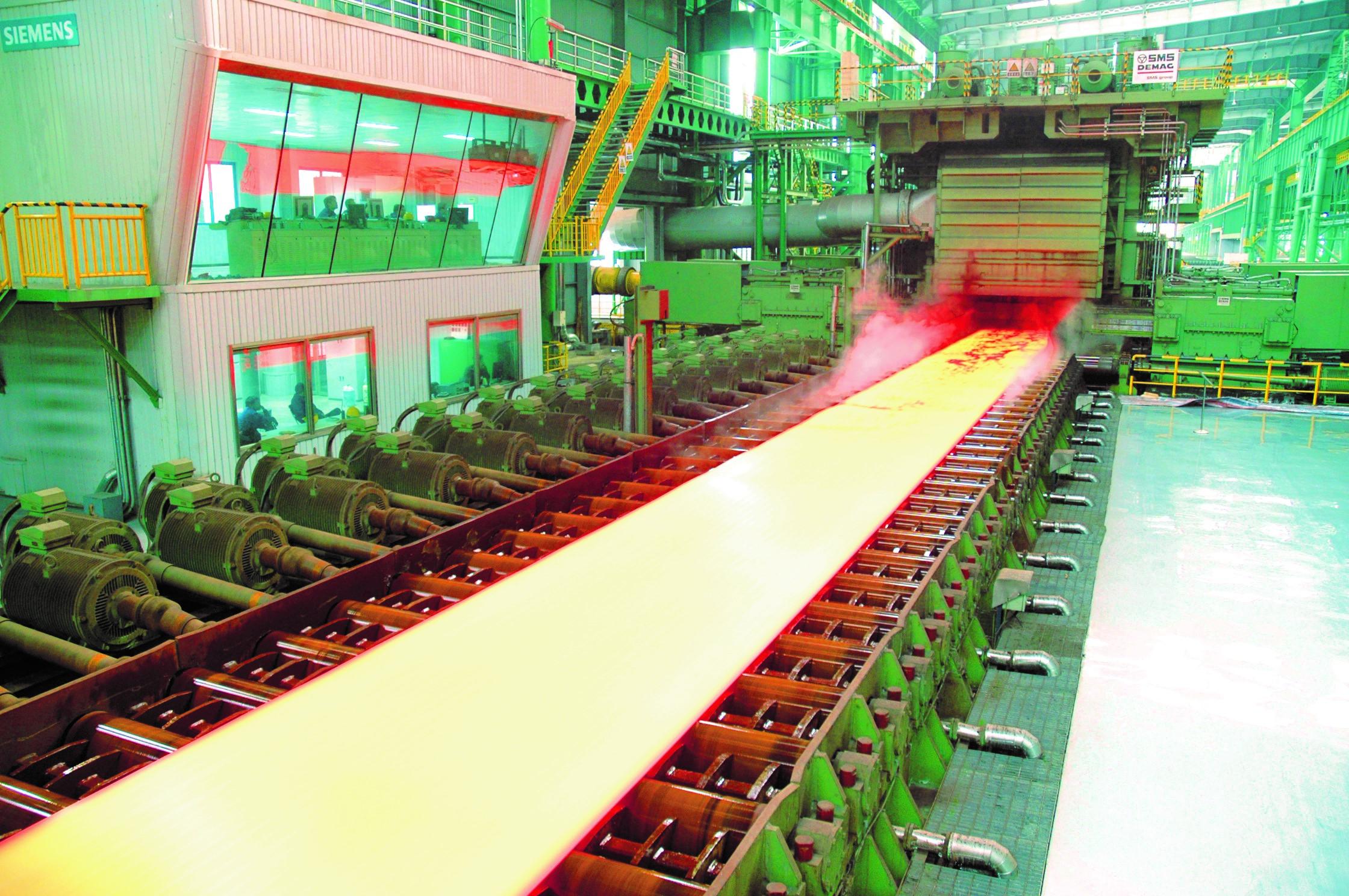 轧钢中厚板工程2