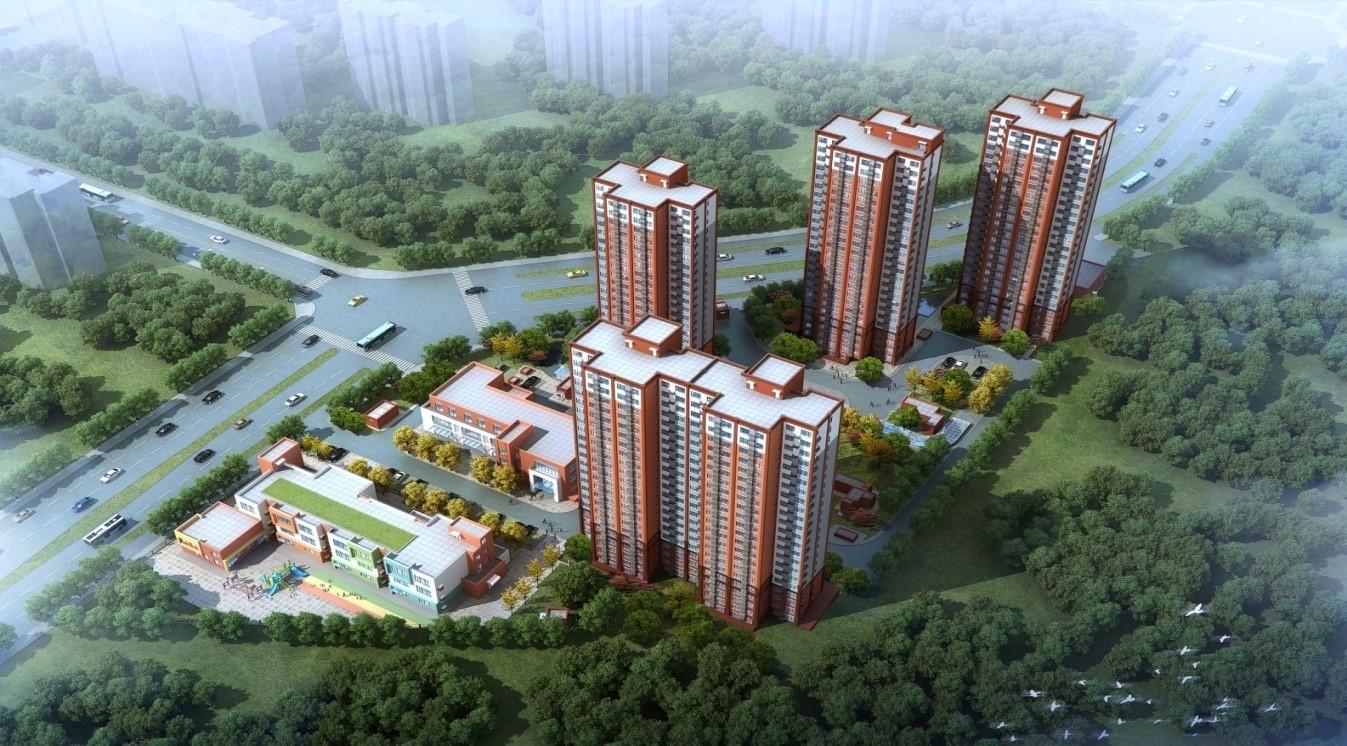 建筑市政——二通鋼結構裝配式住宅項目