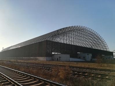 5首鋼京唐能源部煤料場封閉