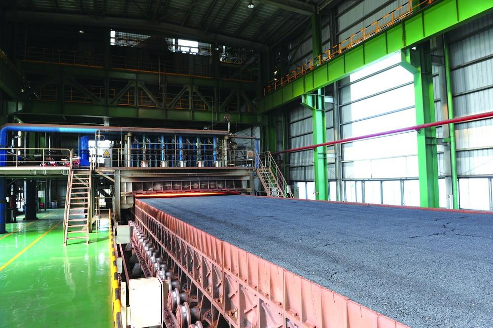 首鋼京唐鋼鐵公司2x550m2燒結工程-圖2