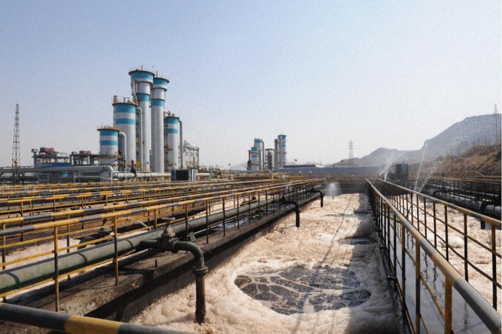 河北遷安中化煤公司焦化污水處理工程
