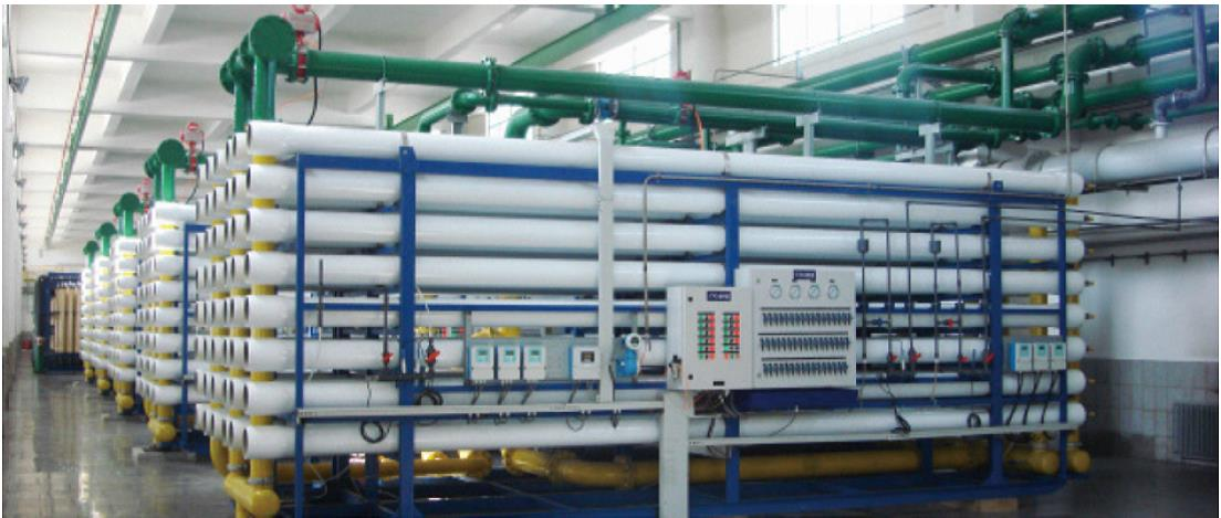 河北省首鋼遷安鋼鐵有限責任公司冷軋脫鹽水站工程