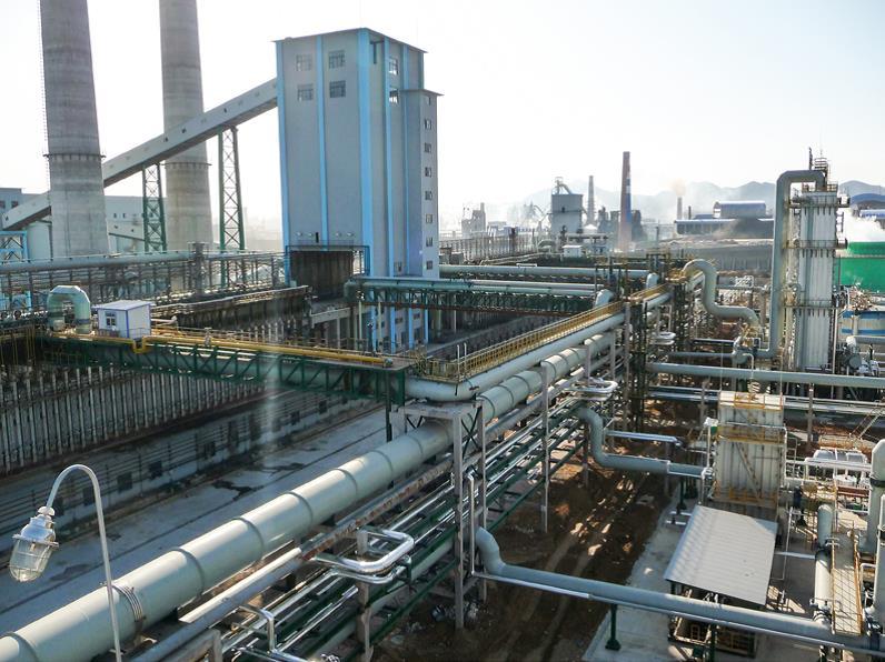 首鋼遷鋼給排水綜合管網