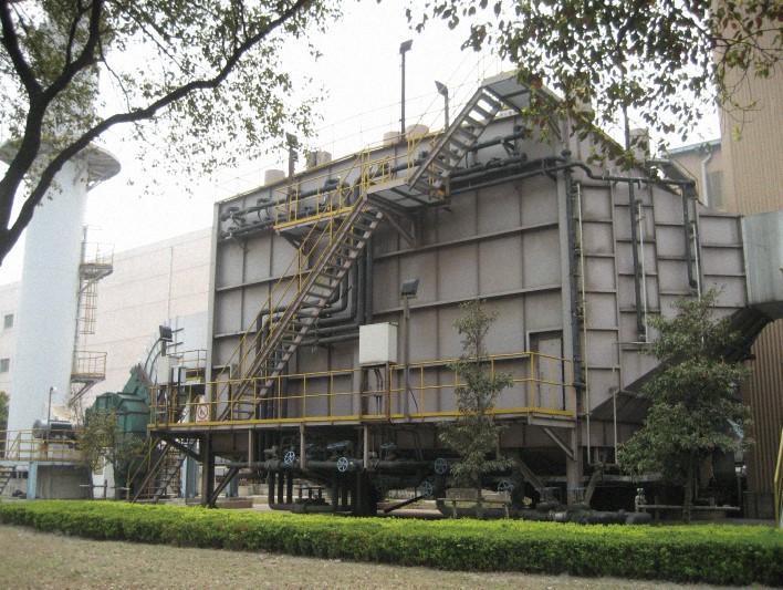 遷鋼板坯精整濕式電除塵系統工程