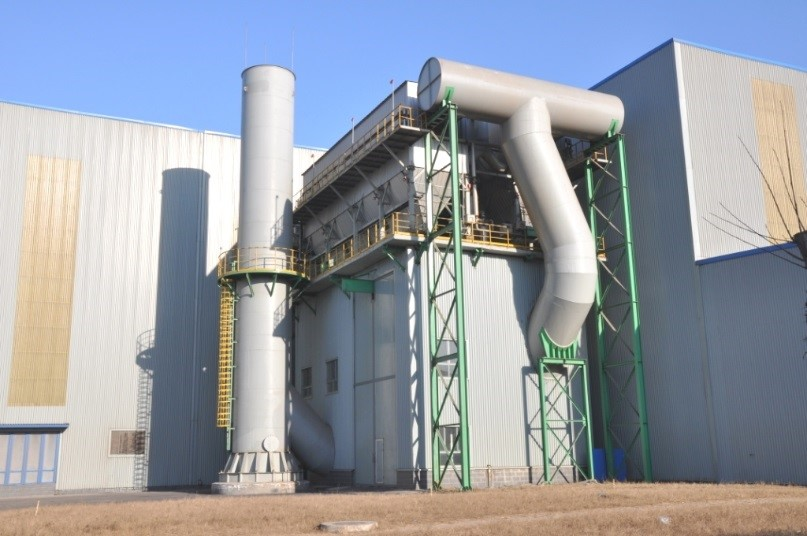 首鋼京唐2250mm熱軋精軋機除塵系統工程