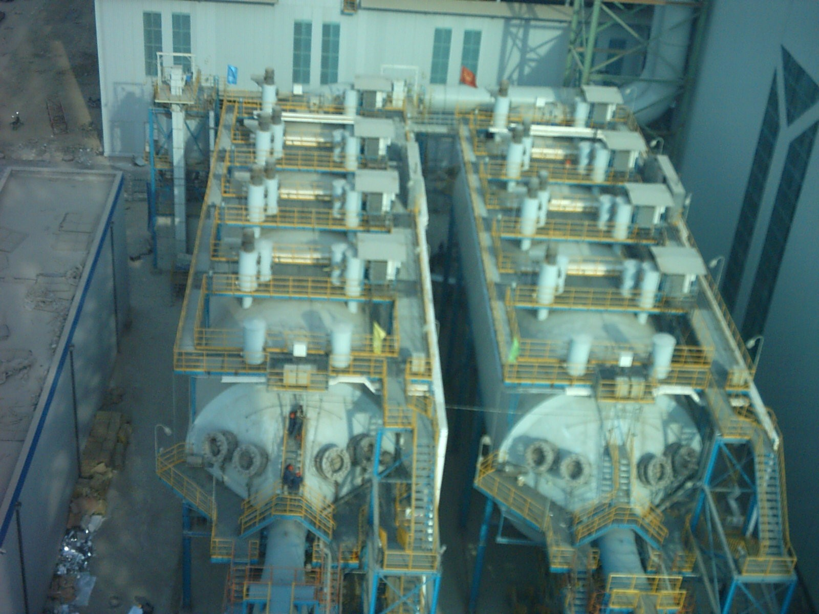 转炉煤气干法除尘电除尘器